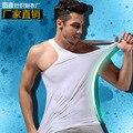 New Men modal vest stretch tight   t-skirt cultivate underskirt