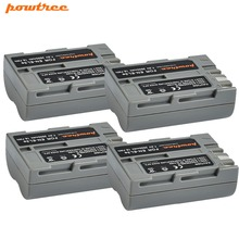 4pcs 7.2V 2600mAh AKKU EN-EL3E EN-EL3e ENEL3E EN EL3E  Li-ION Batteries for Nikon D50 D70 D80 D90 D100 D200 D300 D700 z1 L15