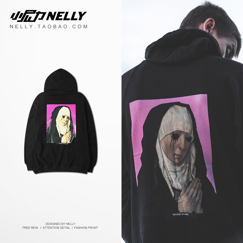 NELLY 2019 Autumn Winter New Couples Hoodies Unisex Fashion Warm Hip Hop Streetwear Men's Hats Sweatshirts(China)