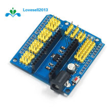 1Pcs I2C NANO I/O Expansion Sensor Shield Module For Arduino UNO R3 Nano V3.0(China)