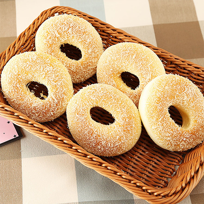 Simulation Bread Model Donut Fake Cakes Decoration Artificial Donut Food Photography Props Home Decoration Accessories Miniature
