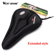 MTB Cycling Bicycle Silicone Saddle Pad Bicycle Soft Seat Case Road Thickened Silica Gel Cushion Seat Cover Pad For Bike