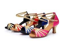Venda quente zapatos hombre baile latino festa jazz sapatos de dança de salão sapatos de dança latina das mulheres