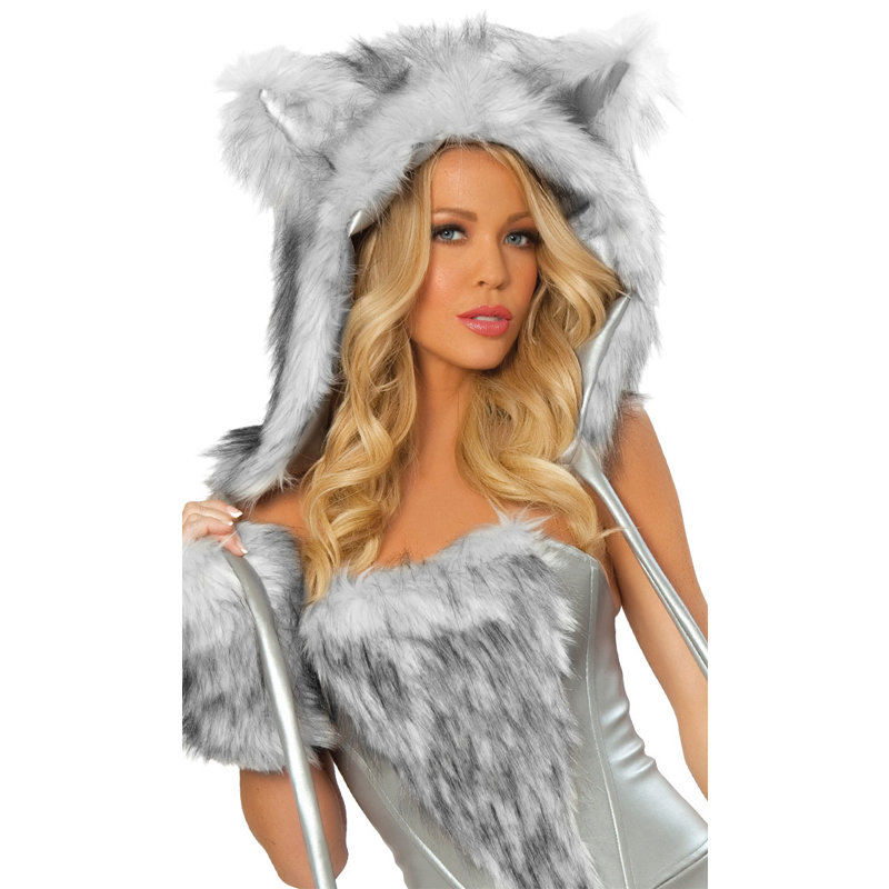 aliexpresscom buy halloween cosplay costumes animal cosplay set women sexy wolf cosplay cosutmes party fairy disguisement for carnaval 4 pcs set from - Womens Wolf Halloween Costume