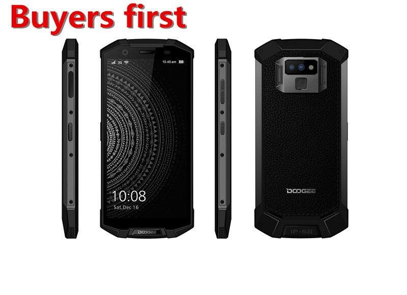 2018 DOOGEE S70 lite IP68 Étanche Téléphone Mobile Android 8.1 5.99 FHD Helio P23 Octa Core 4 gb 64 gb 12.0MP 4g LTE NFC Smartphone