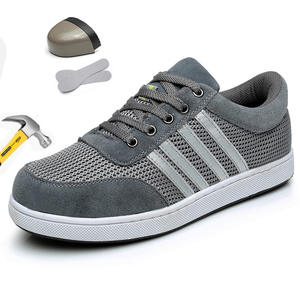 Safety Shoes Construction-Site Work Summer Light Labor Deodorant Insurance Anti-Piercing