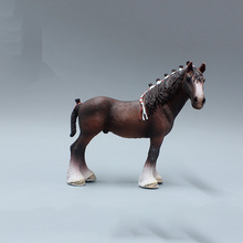 13cm Clydesdale Horse Models PVC High Quality Toys Gifts Collections