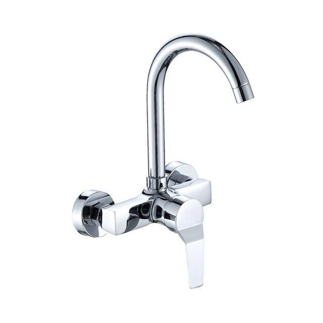 Online-Shop Wand Montiert Küchenarmatur Mischer Kitchen Sink Tap ...