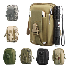 Travel Kit Outdoor Tactical Waist Fanny Pack Belt Bag EDC Camping Hiking Pouch Wallet Phone 10-0007(China)