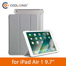 PU+PC Tablets Case For iPad Air 1 9.7 Smart Wake Protective Cover Tri-folded Connection Tablet Case For iPad Air Case Air 1 Case стоимость