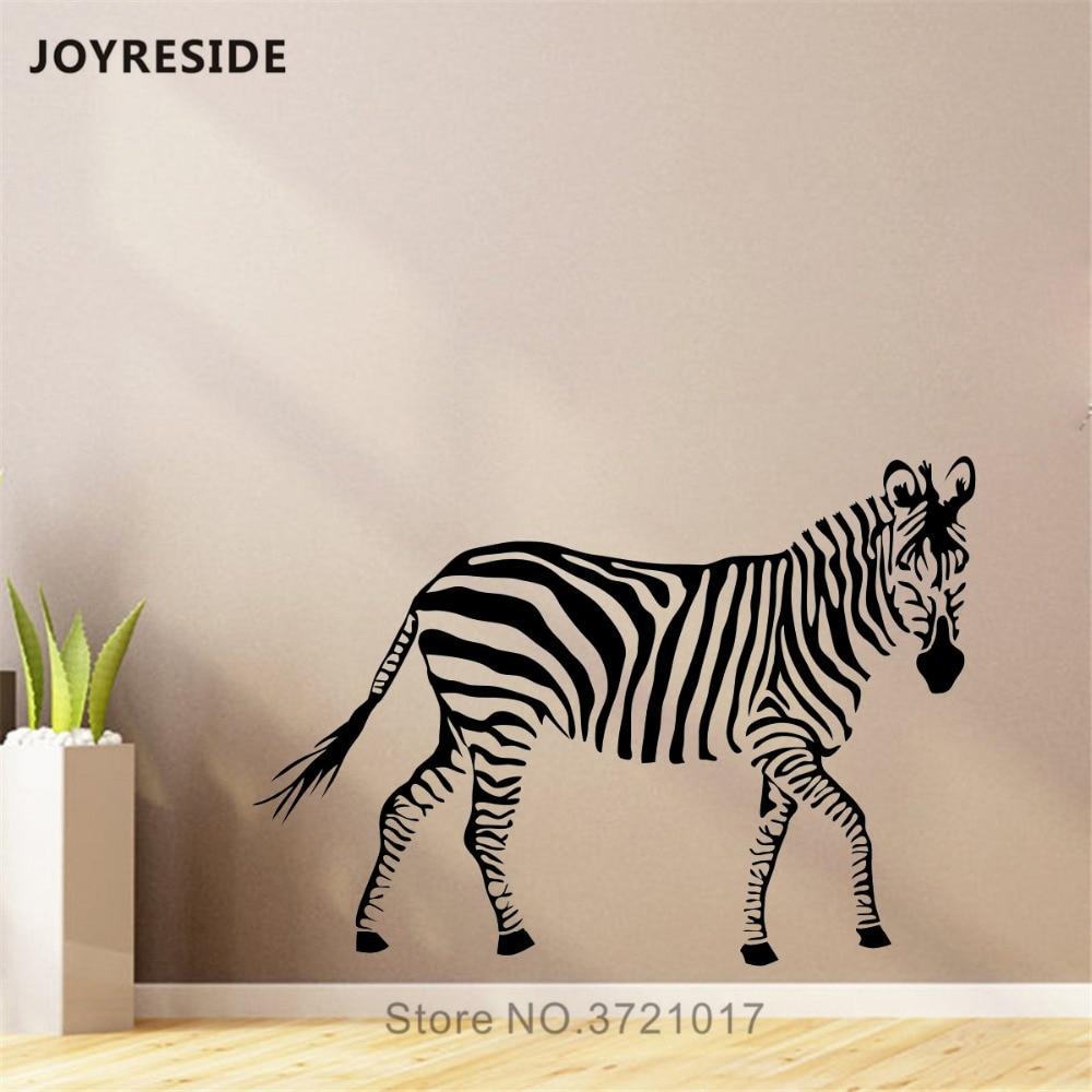 Zebra Vinyl Sticker Waterproof Decal