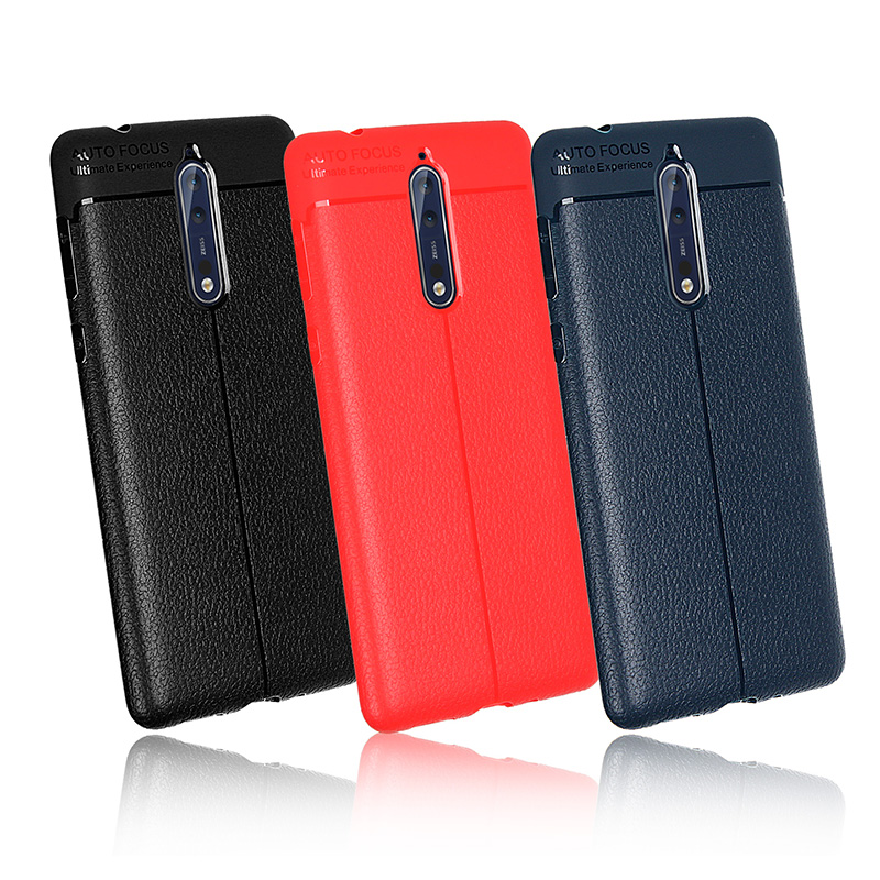 High Quality Silicone Plastic Case For <font><b>Nokia</b></font> 1 <font><b>2</b></font> 3 5 6 2018 7 Plus 8 9 TA-1024 TA-<font><b>1029</b></font> TA-1032 Soft Cover Protector Shell Capa image