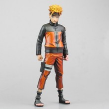 Huong Anime Figure 25 CM Naruto Uzumaki Naruto Cartoon Comic.ver PVC Action Figure Collectible Model Toys Dolls