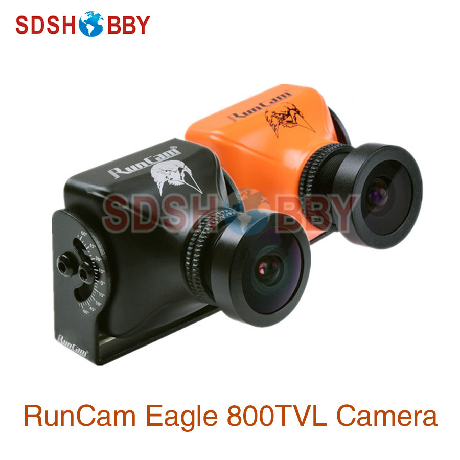 RunCam Eagle 800TVL DC 5-17V Global WDR 16:9 CMOS FPV Racing Drone Camera PAL NTSC Switchable runcam eagle 800tvl dc 5 17v global wdr 16 9 cmos fpv racing drone camera pal ntsc switchable