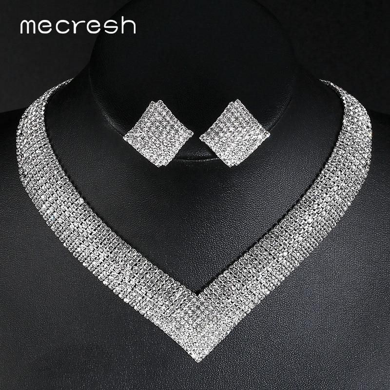Mecresh Classic Crystal Wedding