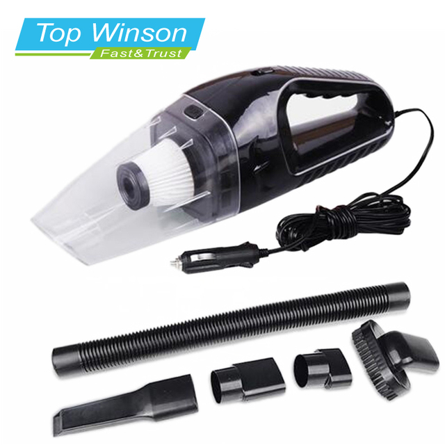 120W Portable Car Vacuum Cleaner  Hand Held Wet and Dry dual-use  Auto Cigarette Lighter Hepa Filter 12V  7 Colours