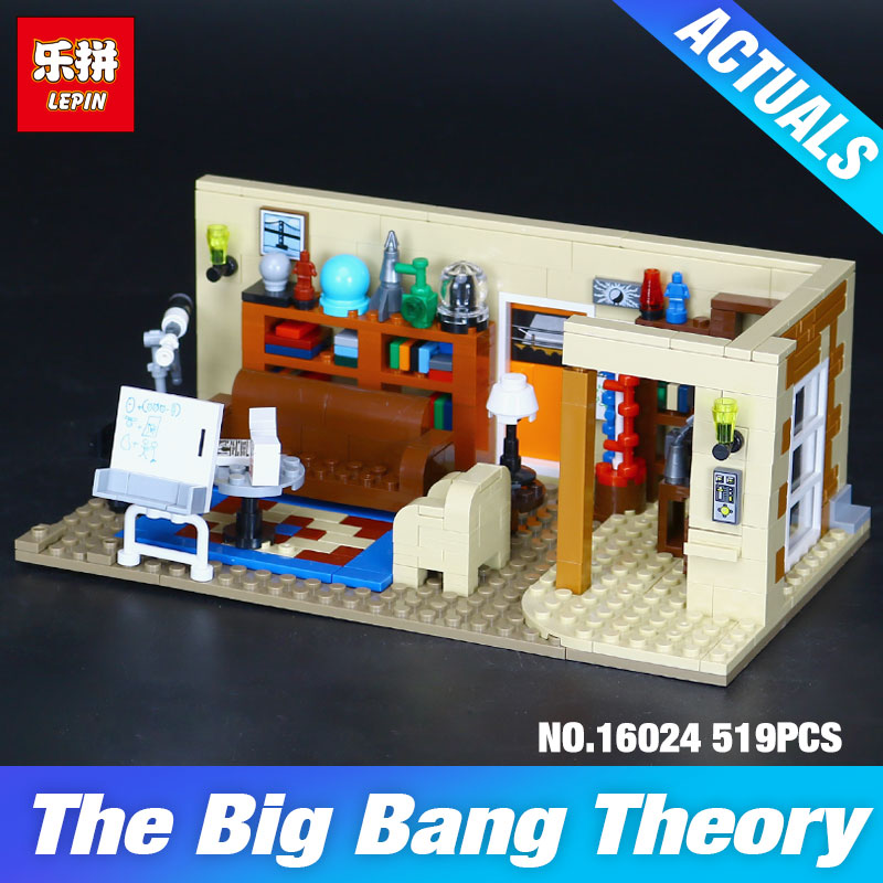 NEW Lepin 16024 534Pcs IDEAS Series The Big Bang Set Educational Building Blocks Bricks Compatible Children DIY Toys Gift 21302 gonlei new 610pcs 10634 batman movie the batmobile building blocks set diy bricks toys gift for children compatible lepin 70905