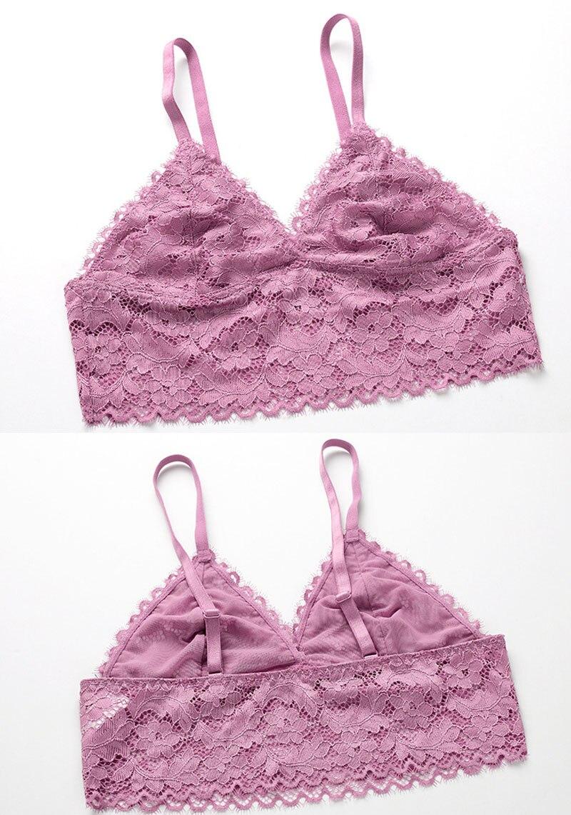 sexy bra set violet 5