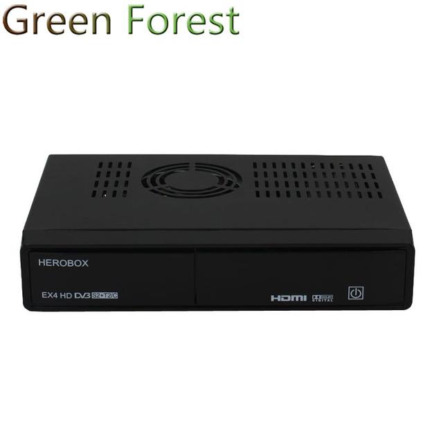EX4 HD Receptores de Satélite DVB-S2 Tuner + 109A HEROBOX T2/C Tuner BCM7362 751 MHZ Dual-core 512 MB de RAM (2*256 MB DDR3)