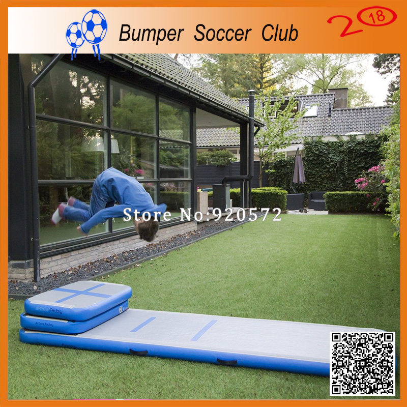 Free Shipping Free One Pump 3x1x0.2m Inflatable Air Gym Track Tumbling Mat, DWF Material Air Track/Inflatable Airtrack free shipping 6x1x0 2m cheap inflatable gymnastics tumbling mat air floor for home use beach park and water free one pump