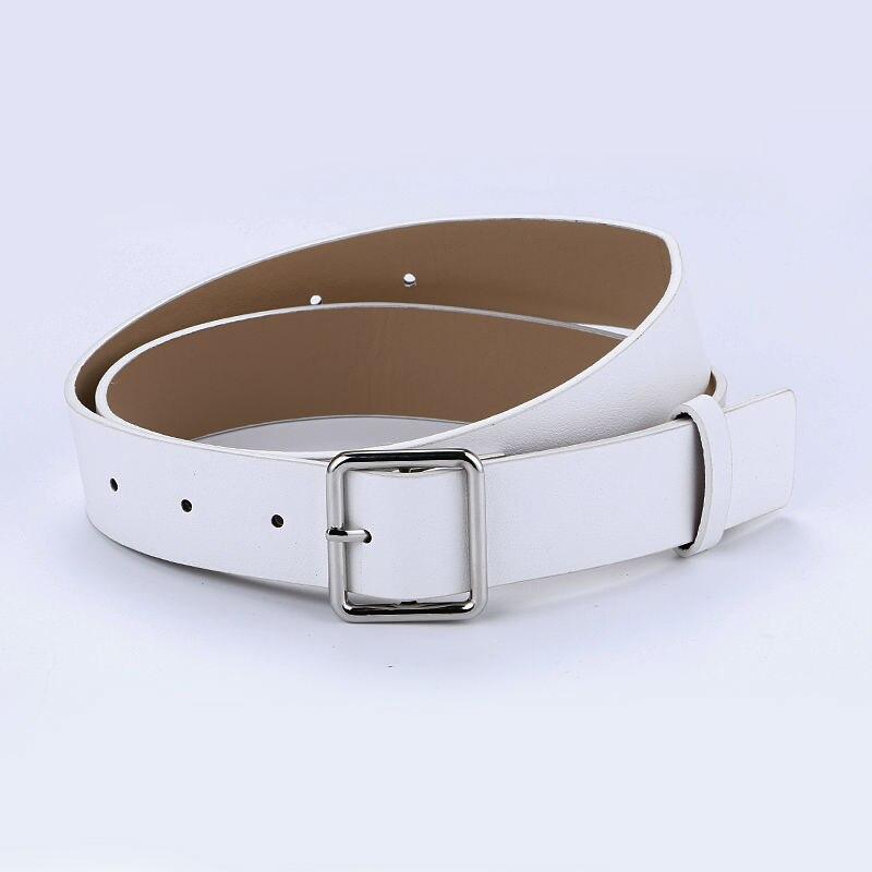 Más nuevo diseño mujer cinturón de plata pin cuadrado hebilla - Accesorios para la ropa - foto 3