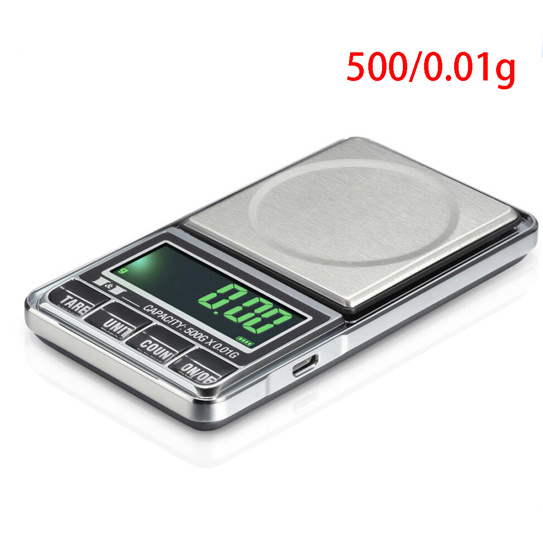 0.01 Accuracy 100/200/300/500/600g Electronic Digital Precision Mini Scale Jewelry Scales Pocket Scale Balance for gold