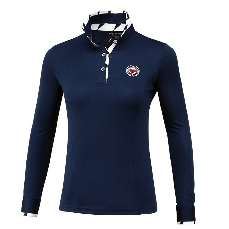 Pgm femmes Golf à manches longues t-shirts dames en plein air Uv protéger crème solaire chemise femme glace confort Golf vêtements AA60457