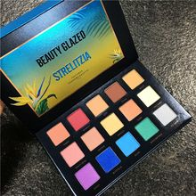 Fashion 15Color Matte Glitter Pigment smoky eyeshadow Palette Shimmer and Shine Nude Make Up Palette sombras de ojos profesional