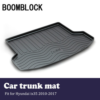 BOOMBLOCK Car Accessories Covers Trunk Mat Cargo Liner For Hyundai ix35 2017 2016 2015-2010