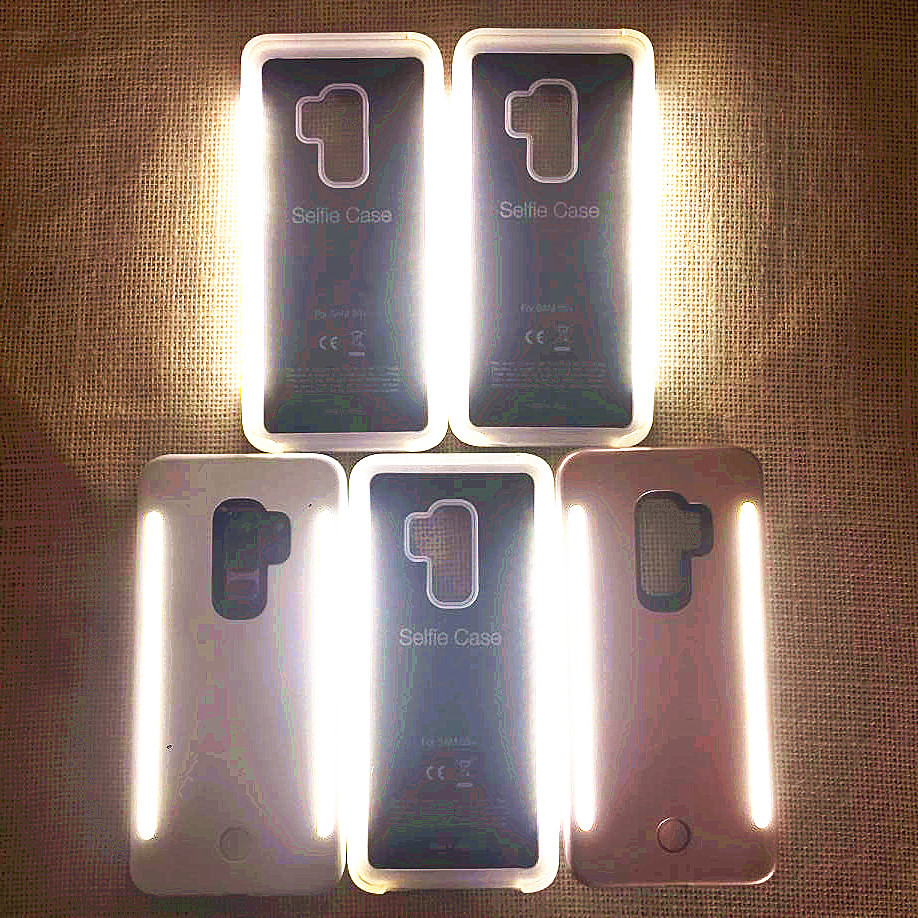 SOKELY 3 Generations <font><b>LED</b></font> Luxury Luminous Phone <font><b>Case</b></font> For <font><b>Samsung</b></font> Galaxy S9 plus Protector Cover Bag For S8 <font><b>S10</b></font> Plus <font><b>Case</b></font> image