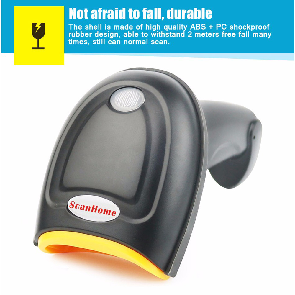 ФОТО ScanHome ZD5800 Barcode 2D 32Bit Scanner Portable 2D QR PDF417 Code Reader Barcode Scanner USB Wired 1D/2D Barcode Scanner