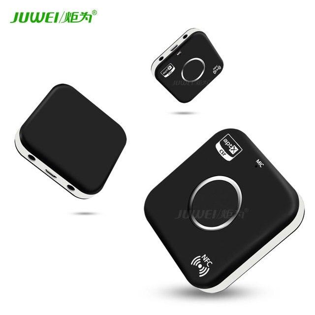 Bluetooth 4.0 Приемник Автомобильные Комплекты Портативный Беспроводной Аудио Адаптер с 3.5 мм Aux Jack (NFC С Поддержкой) все Смартфоны