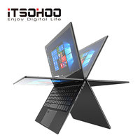11.6 inch 2 in 1 convertible touch screen Netbook 8GB RAM 1920X1080 IPS Screen 192GB dual band wifi iTSOHOO 360 degree laptop