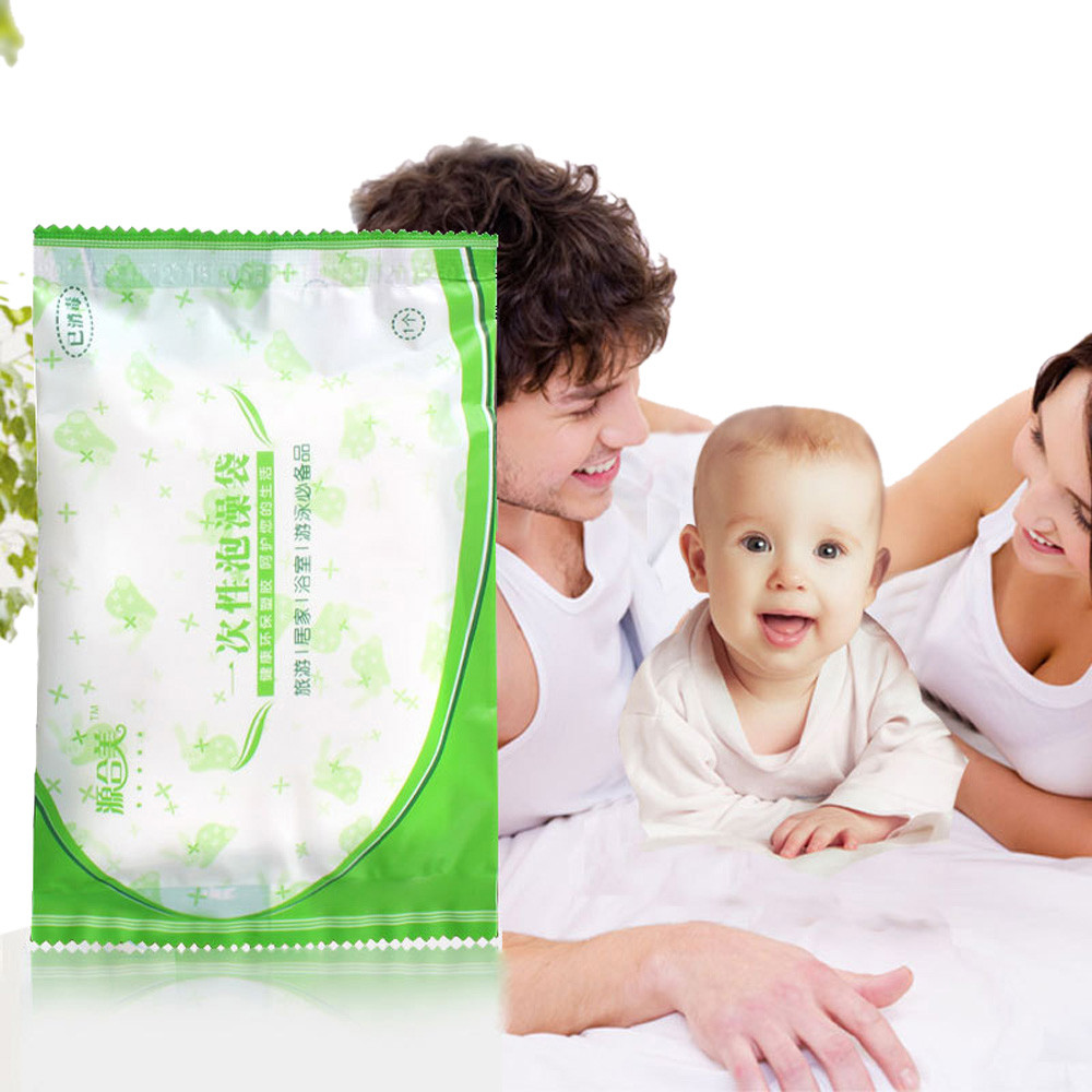 New Qualified Dropship Health Disposable Film Bathtub Bag for Household and Hotel Bath Tubs Useful SEP22