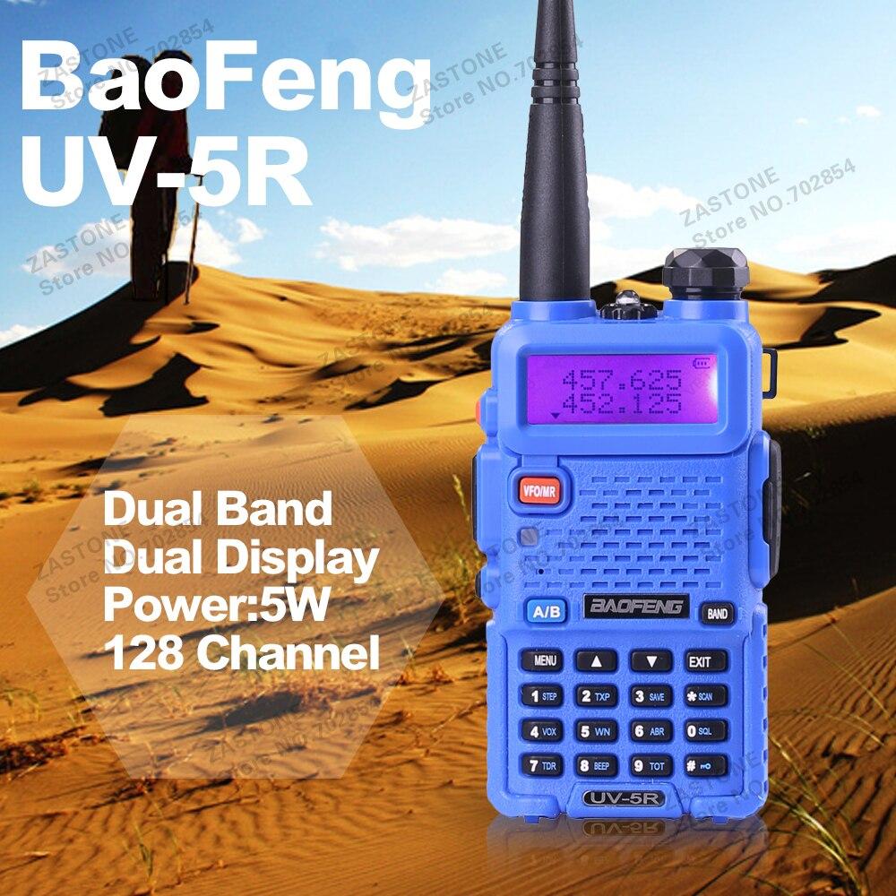 bilder für BAOFENG UV-5R Walkie Talkie Dual Band Radio 136-174 Mhz & 400-520 Mhz Baofeng UV5R handheld Walkie Talkie