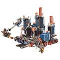 1115 unids 2016 LEPIN 14006 Caballeros de la Alta tecnología Fortaleza Móvil Modelo Building Blocks Super Heroes Juguetes Educativos