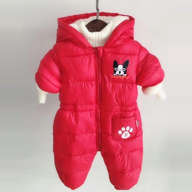 ccf159c08 Aliexpress.com   Buy Newborn Boys Girls Romper Winter Toddler ...