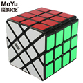 Moyu Brand AoSu 62mm 4x4x4 Crazy Fisher Speed Skew Magic Cube Collection Puzzle Cubes Educational Toy