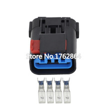 цена на 4 Pin automotive Plastic waterproof sensor connector harness connector with terminal plug  DJ7046Y-2.8-21 4P