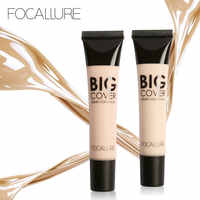 FOCALLURE Perfect Cover Face Concealer Cream Pro Contour Makeup Liquid Concealer Makeup Foudantion Cream Maquiagem Face Makeup
