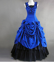 Plus Size Customized Costumes for Women Adult Southern Victorian Dress Ball Gown Gothic Lolita Dress free shipping