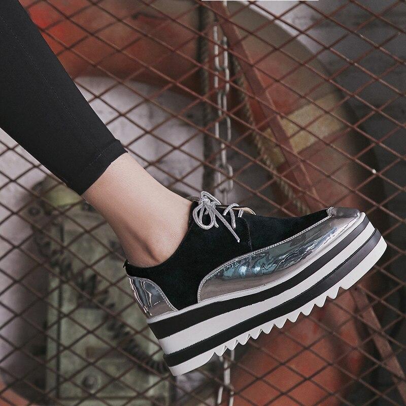 Printemps Qualité Plate Dames En Talons Black Pompes Femmes Daim gray Haute forme Chaussures Hauts 2018 Naturel qFBW8AnSA
