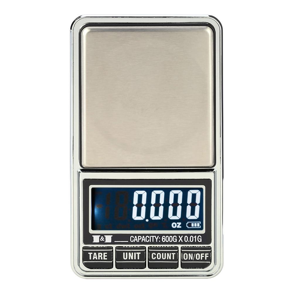 600g*0.01g1000g*0.1g Mini Digital Scale Jewelry Weighting Kitchen Scale Electronic LCD Display goztlgnoztdwtct Precision