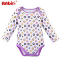 Newborn Autumn and summer Long Sleeves baby bodysuits 100% Cotton high quality Baby Girls Boys Clothing baby Clothes