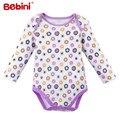 Recém-nascidos de outono e verão de mangas compridas bebê clothing bodysuits 100% algodão de alta qualidade meninos das meninas do bebê roupas de bebê