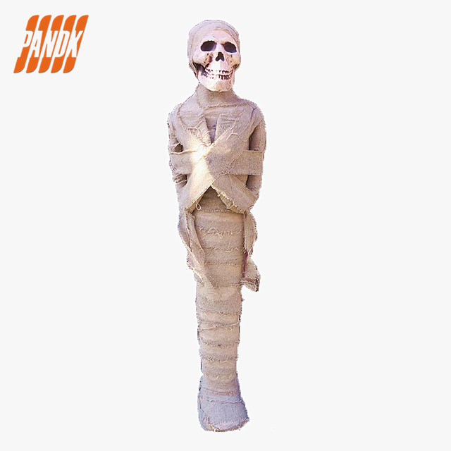 halloween decorations party mummy realistic halloween props haunted house skull horror tricky mummy free shipping