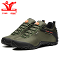 XIANG GUAN 2017 New Men waterproof Boots Martin Ankle Leather outdoor hiking boots Thick Heel Flat shoes 81283