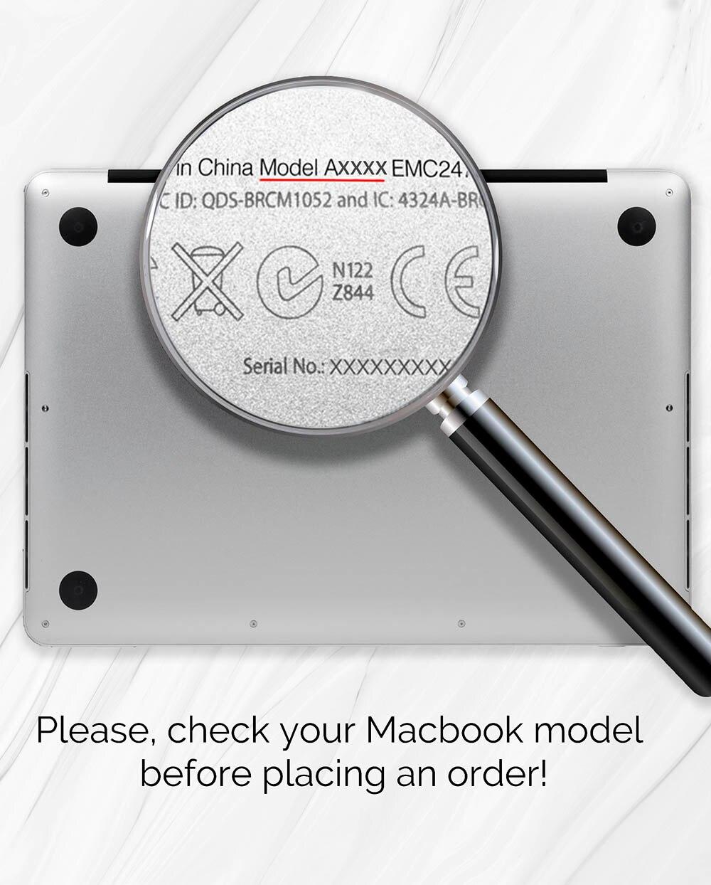 MOSISO Crystal Matte Case для Macbook Pro Retina 11 12 Air - Аксессуары для ноутбуков - Фотография 6