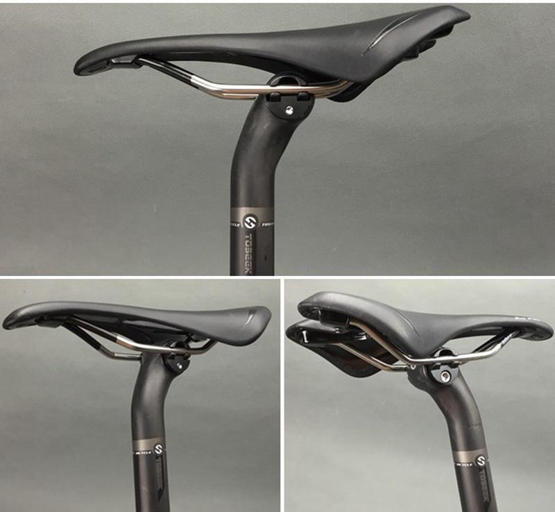 TOSEEK pilna oglekļa šķiedras sēdekļa balsts MTB / ceļa - Riteņbraukšana - Foto 6
