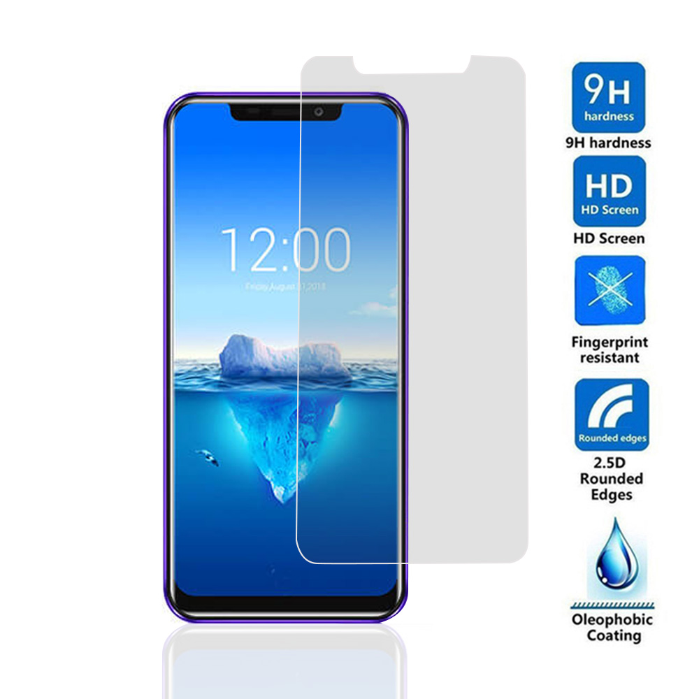 2.5D 9H Tempered Glass For Oukitel C4 C5 <font><b>C8</b></font> K3 K6 K8 U22 U25 U15S U15 U11 U18 U20 PLUS HD Scratch Proof Screen Protector image